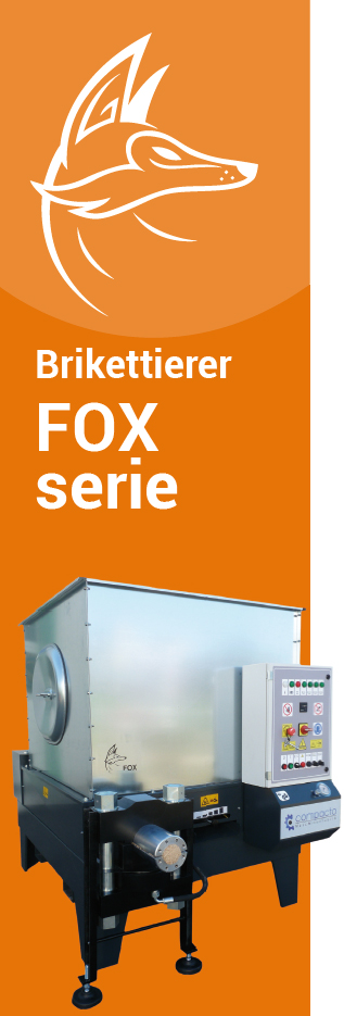 Brikettierpresse FOX